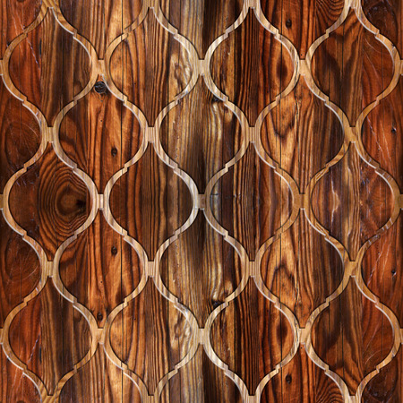 wood structure: Interior wall panel pattern - abstract decoration material