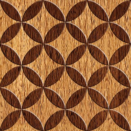 Interior Design wallpaper - paneling pattern