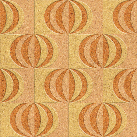 tiles texture: Abstract paneling pattern - Interior wall panel pattern - wall decorative tiles - tile pattern - geometric patterns - seamless background - different colors - texture cork