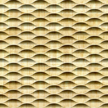 ancient papyrus: Abstract decorative lattice - Interior wall panel pattern - Geometric shapes - guilloche patterns - seamless background - papyrus texture