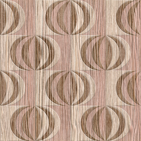 groove: Abstract paneling pattern - Interior wall panel pattern - wall decorative tiles - tile pattern - geometric patterns - seamless background - different colors - Blasted Oak Groove wood texture