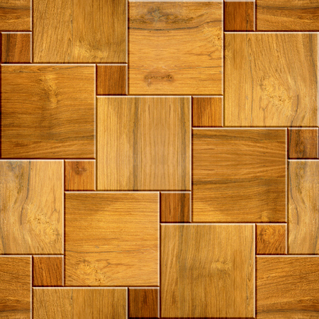 cherry wood: Decorative tile pattern - seamless background - checkered style - Cherry wood texture