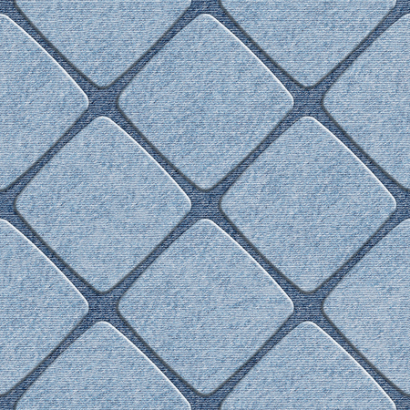 denim jeans: Interior wall panel pattern - decorative tile pattern - seamless background - Blue denim jeans