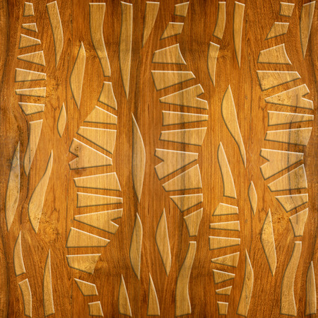 cherry wood: Abstract decorative wallpaper - Cherry wood texture - seamless background - Interior wall panel pattern - imaginary geometric design