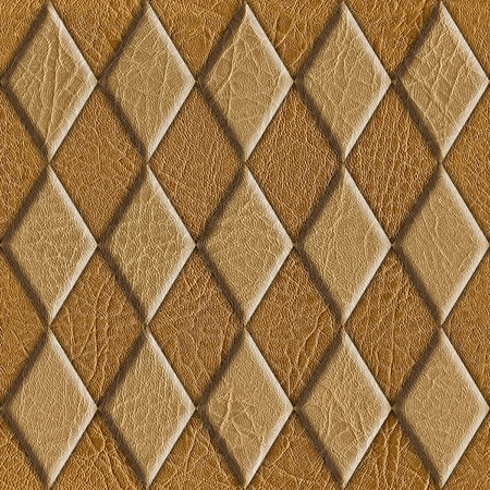 texture leather: Abstract decorative tiles - seamless background - leather texture