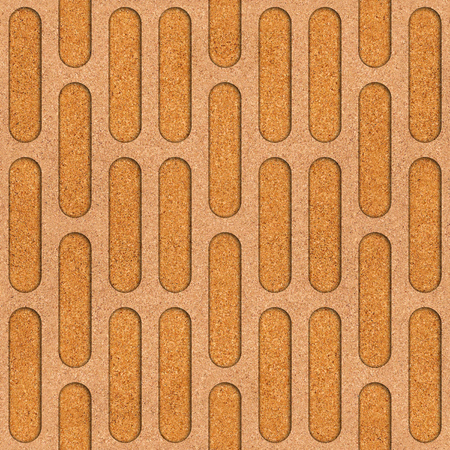 furled: Abstract decorative grid - seamless background - texture cork Stock Photo