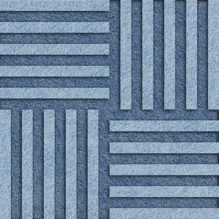 jeans background: Abstract paneling pattern - seamless pattern - blue jeans background Stock Photo