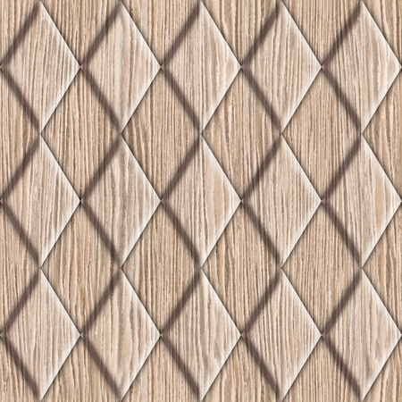 pavement: Abstract decorative tiles - seamless background - Blasted Oak Groove wood texture