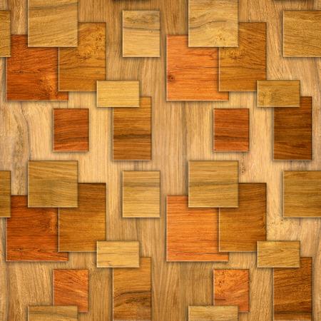 cherry wood: Interior wall panel pattern - decorative tile pattern - seamless background - Cherry wood texture Stock Photo