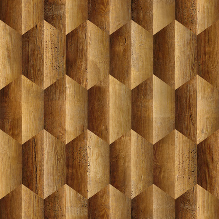 panelling: Abstract decorative panelling - seamless background - Interior wall panel pattern - different colors - wood texture Stock Photo