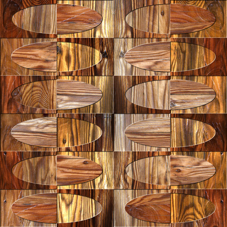 pave: Interior wall panel pattern - seamless background - different colors - wood texture Stock Photo