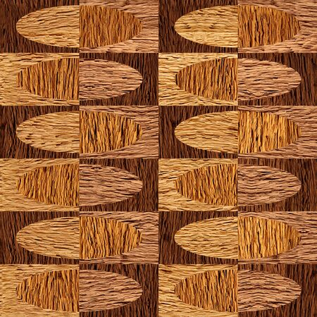 Interior wall panel pattern - seamless background - different colors - walnut wood texture Stock Photo