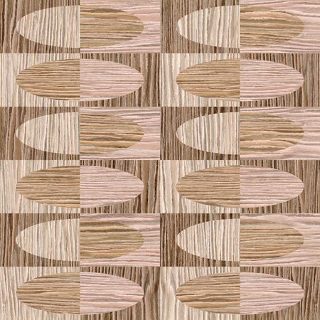 groove: Interior wall panel pattern - seamless background - different colors - Blasted Oak Groove wood texture Stock Photo