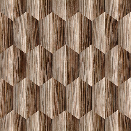 panelling: Abstract decorative panelling - seamless background - Interior wall panel pattern - different colors - Blasted Oak Groove wood texture