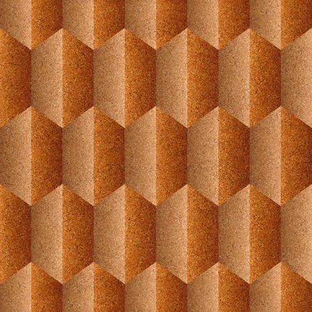 panelling: Abstract decorative panelling - seamless background - Interior wall panel pattern - different colors - texture cork Stock Photo