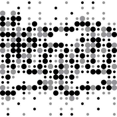 printed material: Vector seamless pattern. Stylish monochrome dots. Repeating geometric background. Can be used for various printed material, wallpaper, linoleum, surface textures, web page background.