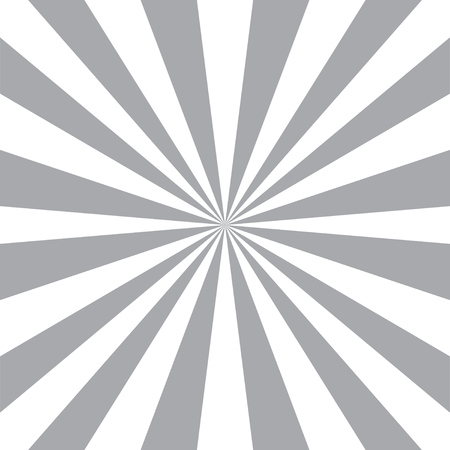 Los rayos de sol de fondo abstracto. Fondo radial. estilo del resplandor solar. Modelo del diseño de la vendimia. Vector Negro y fondo blanco.