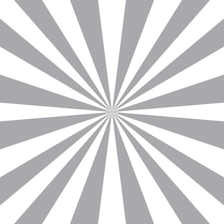 Raggi di sole sfondo astratto. sfondo radiale. stile Sunburst. Vintage modello di progettazione. Vector Black & White background.
