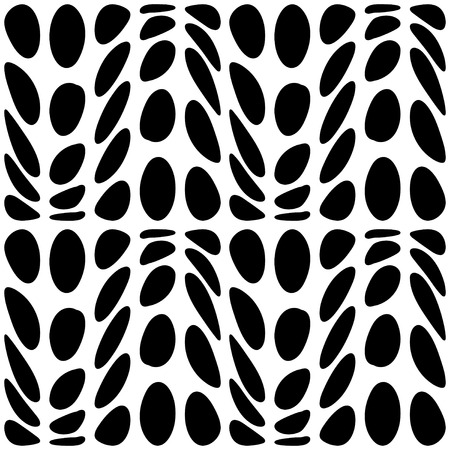 undulating: Abstract undulating dots and stains. Abstract decorative wallpaper. Black and white version. Vector seamless patterns. Modern graphic design.