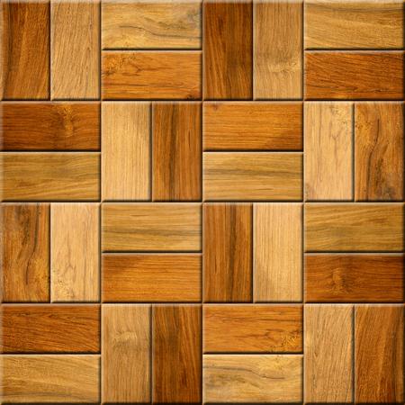 Wooden decorative tiles - cassette floor - Seamless background - Interior Design wallpaper - Fine natural structure - Continuous replication