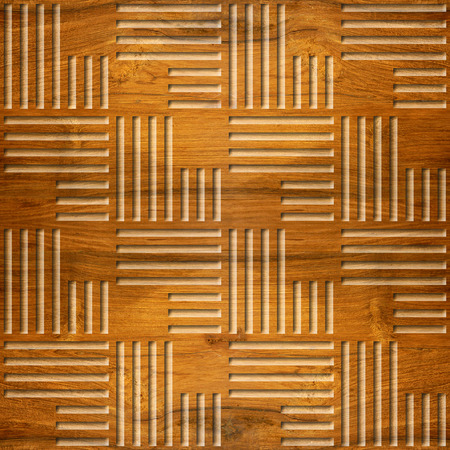 Abstract paneling pattern - seamless background - Cherry wood texture