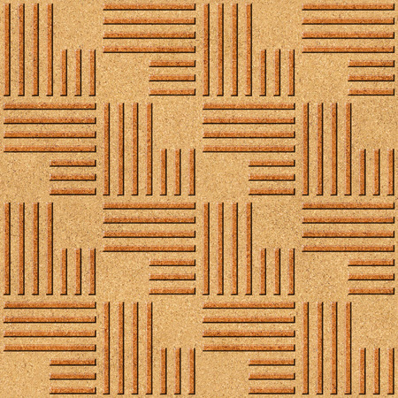 Abstract paneling pattern - seamless background - texture cork