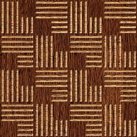 Abstract paneling pattern - seamless background - walnut wood texture