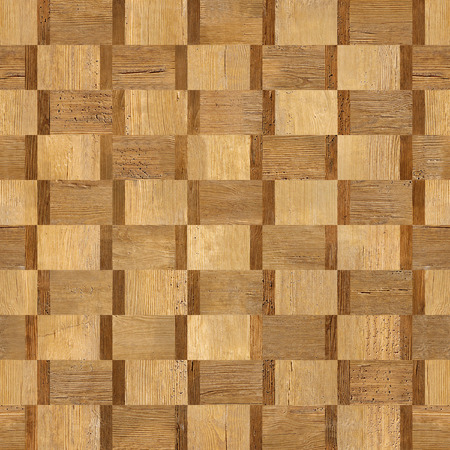 Abstract paneling pattern - seamless background - decorative textures - wood texture Stock Photo
