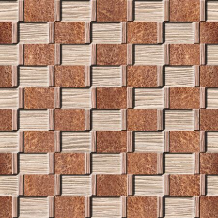 Abstract decorative panelling - seamless background - Interior wall panel pattern - different colors - Blasted Oak Groove wood texture