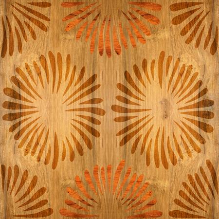 Flores decorativas - Fondo de pantalla interior - Fondo transparente - Textura de madera Foto de archivo