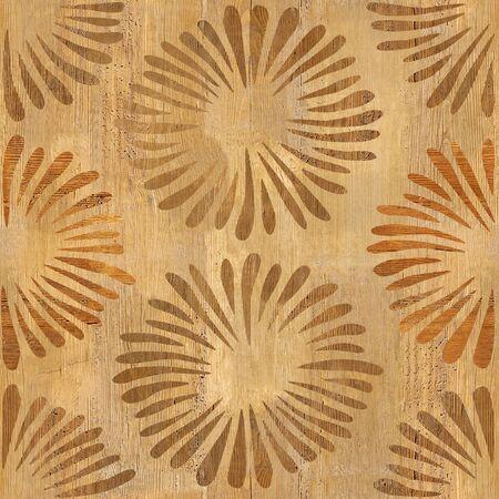 Pétalos decorativos - Fondo de pantalla interior - Fondo transparente - Textura de madera
