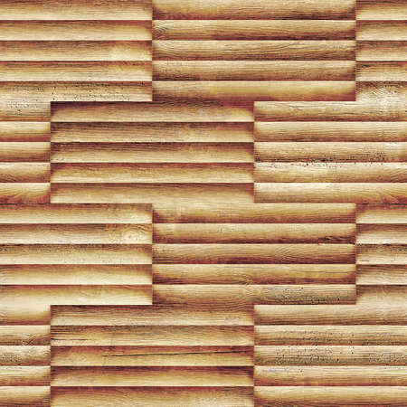 Abstract wooden paneling - seamless background - different color