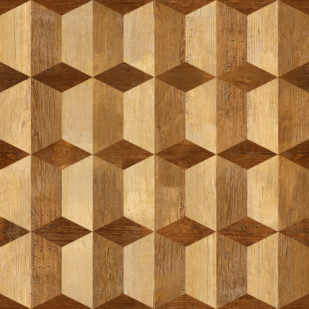Background with wooden patterns of different colors - seamless background texture - repeating geometric tiles