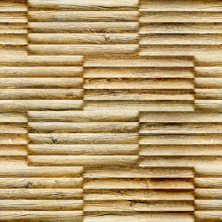 Abstract wooden paneling - seamless background - decorative pattern