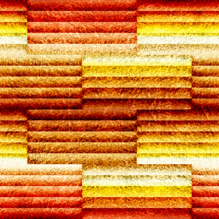 Abstract decorative paneling - seamless background - orange yellow surface