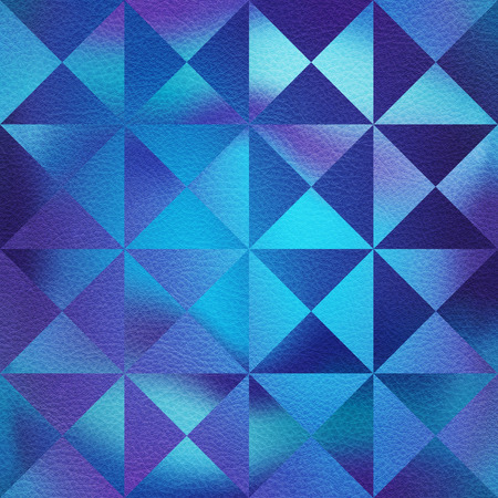 Decorative pyramids stacked for seamless background - coffered paneling - bluish surface