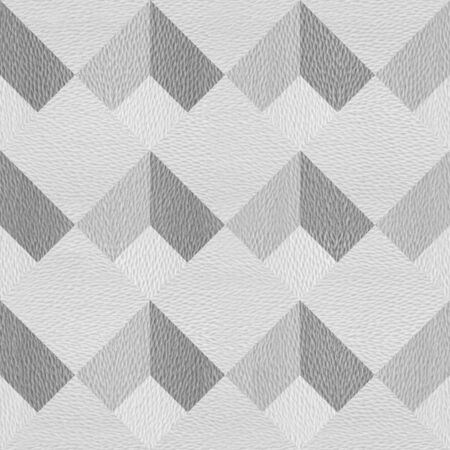 Slanted plaid pattern - seamless background - granular white surface