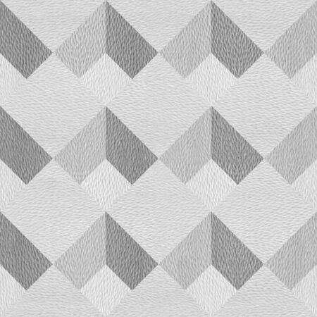 Slanted plaid pattern - seamless background - granular white surface