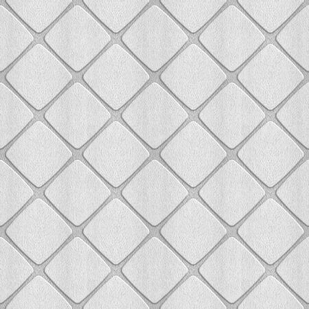 Interior wall panel pattern - decorative tile pattern - seamless background - checkered style - white style