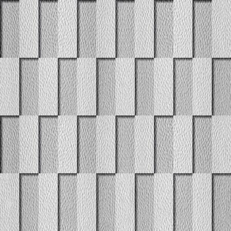 Rectangular checkerboard pattern - seamless background - coffered paneling - granular white surface