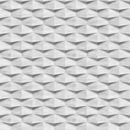 Clean white wall - decorative masonry - Interior wall panel pattern - seamless background