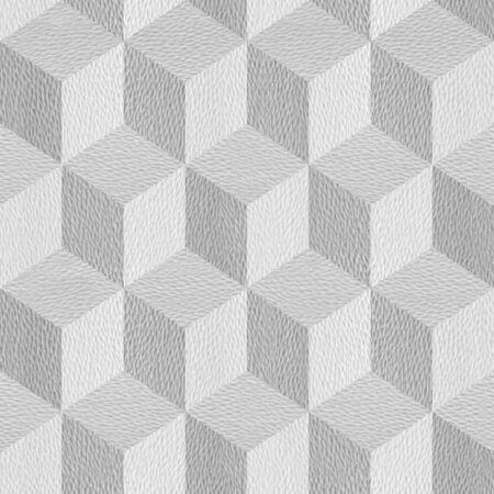 Decorative slanting checkered pattern - Abstract stylish background - granular white surface
