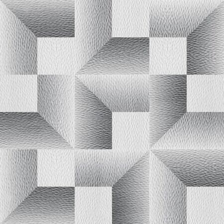 Repeating geometric tiles - Abstract paneling pattern - White seamless patterns - Interior Design wallpaper - Modern graphic design