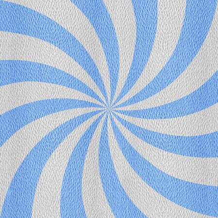 Sunbeams abstract background - Spiral radial background - Sunburst style - Vintage Design Template - blue-white coloring Stock Photo