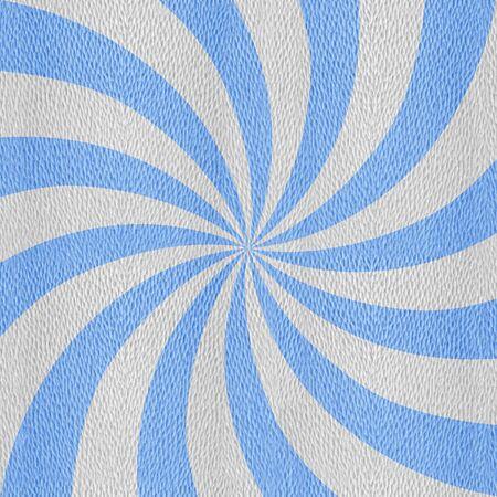 Sunbeams abstract background - Spiral radial background - Sunburst style - Vintage Design Template - blue-white coloring Foto de archivo