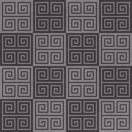 Decorative arabic tiles - Interior wall decoration - seamless background - Black textured pattern - Use as wallpaper or wrapping paper