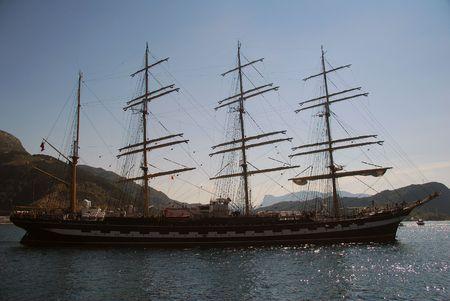 kojen: Tall Ship Races in Maaloey, Norwegen