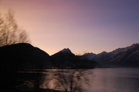 Norwegian winter landscape photo