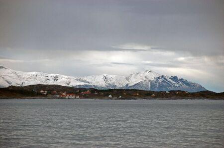 meets: Norwegian winter landscape
