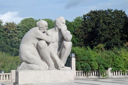 Vigeland sculpture park in Oslo, Norway Stock Photo - 5518421